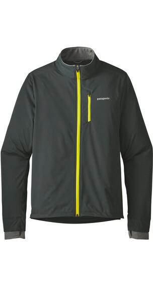 Patagonia M's Wind Shield Hybrid Softshell Jacket Carbon